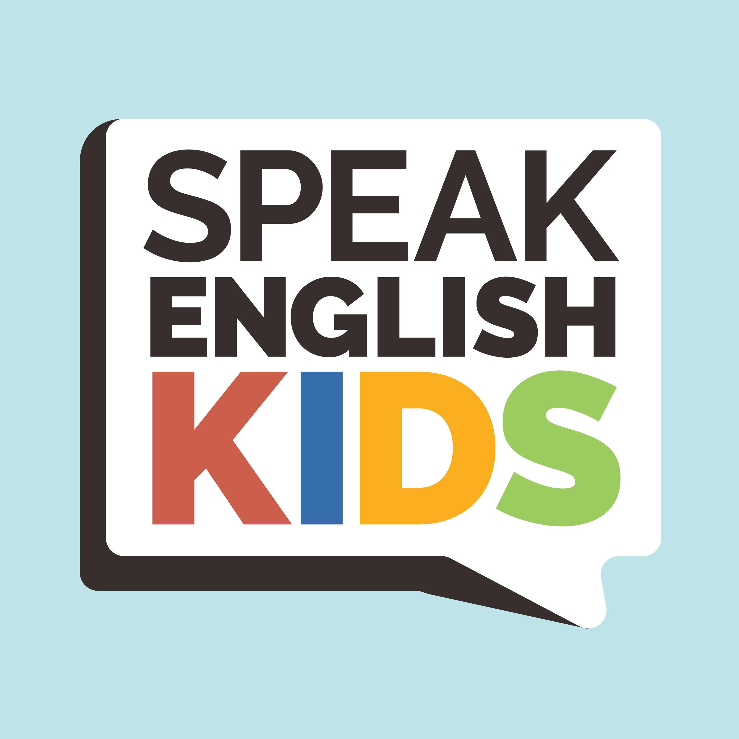 Speak English Kids Design Sarah Dean Design And